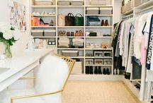 Closet ♤ / decoração de closets