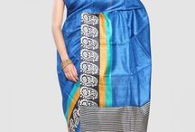Traditional Tussar Sarees / So bright, So Rich and Luxury Redefined.