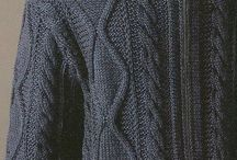 вязание спицами_для мужчин