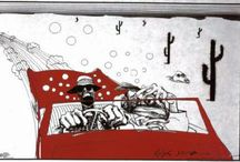 Ralph Steadman / Ralph Steadman (born 15 May 1936) is a British artist best known for his work with American author Hunter S. Thompson. / by PosterScene.com