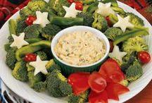 christmas theme food ideas