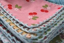 Fabric and Crochet