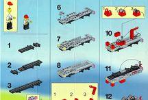 LEGO összerakási útmutatók