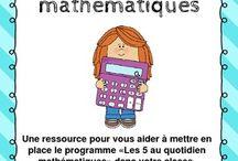 5 au quotidien math