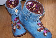 zapatillas jeans reciclados