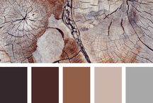 Color Palette - Brown / Various ideas about brown (including inspiration, design ideas etc)