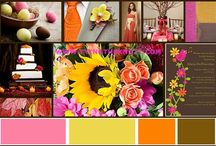 **color palettes** / Color combinations of every description offer a rainbow wonderland of choices! I just can't decide.