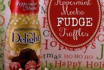 Peppermint mocha! #holidaydelight #gotitfree