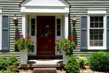Home Exterior-great white planters