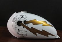Motorcycle Gas Tanks / Motorcycle Gas Tanks by Island Motorcycles