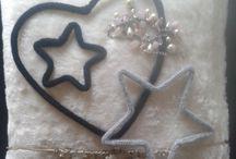 Isa en Bila kerstdecoratie / leuke zelfgemaakte dingen voor jezelf of voor iemand die je kent.