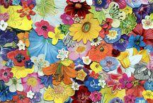 여러색꽃이 아름다울때