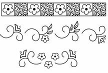 dibujos bordados