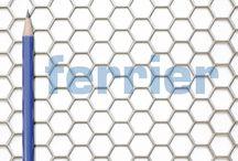Ferrier Design perforated metal / Design perforated metal.