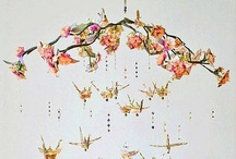 * MOBILE / Mobiles, chimes, 'chandeliers', kusudama, paper lanterns. Clusters of stuff and the things they hang from. Mostly vertical hangings. / by Debidee