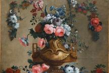 slate blue and blush rose