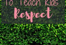 teaching respect to my toddler