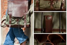 The Backpack by Pad & Quill / A 25 year warranty. Beautiful handcrafted leather. Wax canvas. Introducing The Backpack from Pad & Quill.