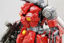 Gunpla_ColorScheme (Red) / Gunpla red color scheme ideas/examples