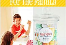 {family mealtime} / Kid-friendly recipes & activities around the table
