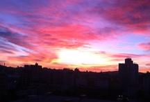 Colorful sky / Porto Alegre, Brazil