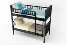 Bunk bed / Level up your bedroom decor with the coolest and trendiest bunk bed designs made at BEDZU.