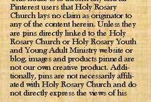 Holy Rosary Disclaimer