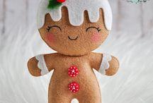 gingerbread in felltro