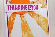 Cards: In the Sky / Sun, clouds, rain, balloons, umbrellas!!
