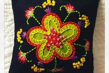 Wool Embroidery and Applique