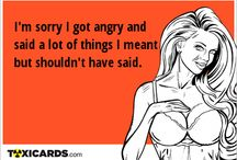 Apology / Want to apologize and don't know how? Send her/him a card