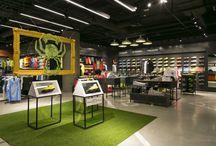 Nike Blue City / Salon Nike w centrum handlowym Blue City w Warszawie.