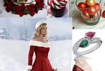 Christmas Wedding in red & Green