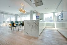 White Flooring / Embrace your inner Swede with a bright, white interior and a light floor by Kährs.