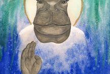 • Hippopotame •