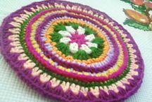 mandala / mandala - crochet items