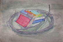 Triantafyllia Pineli's paintings