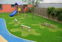 Ogród w przedszkolu