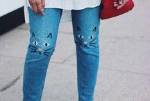 Kimono kattebukser