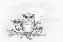 tattoos to think about / looking for owl designs