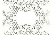 Mønster / Vakre mønstre å få ide