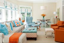 Orange blue / Decor