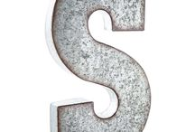 Wall Decor Letters / Find Awesome letters and letter ideas to hang on your wall