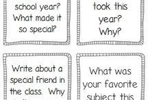 School: Einde van het jaar