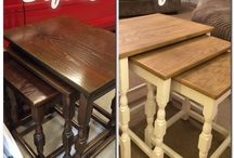 Nest of Tables upcycle