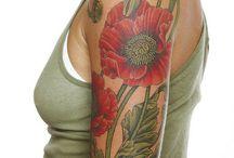 tattoo art nouveau