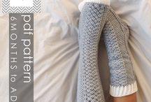 Crochet Feet & Legs