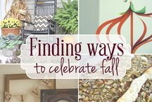 Fall Decorating / by Denise Hoff