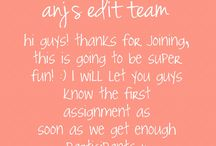  anj's edit team / welcome to my edit team! the third assignment is up for participants & will be due Monday, July 6 at 11:45 a.m. (winner gets a prize (probably a shoutout)) pls message me if you would like to be added, ily guys! x