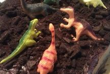 tortas de dinosaurio